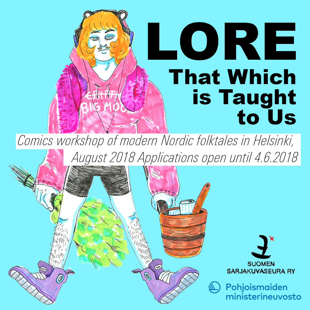 LORE – That Which is Taught to Us: Comics workshop of modern Nordic  folktales